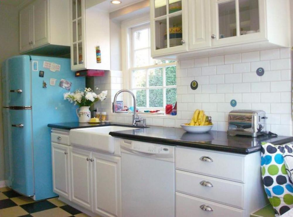 Ретро стил в кухнята