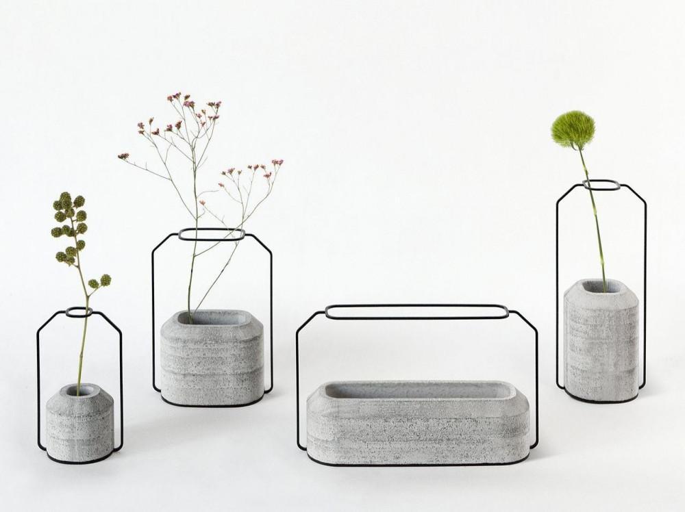 Бетонни вази