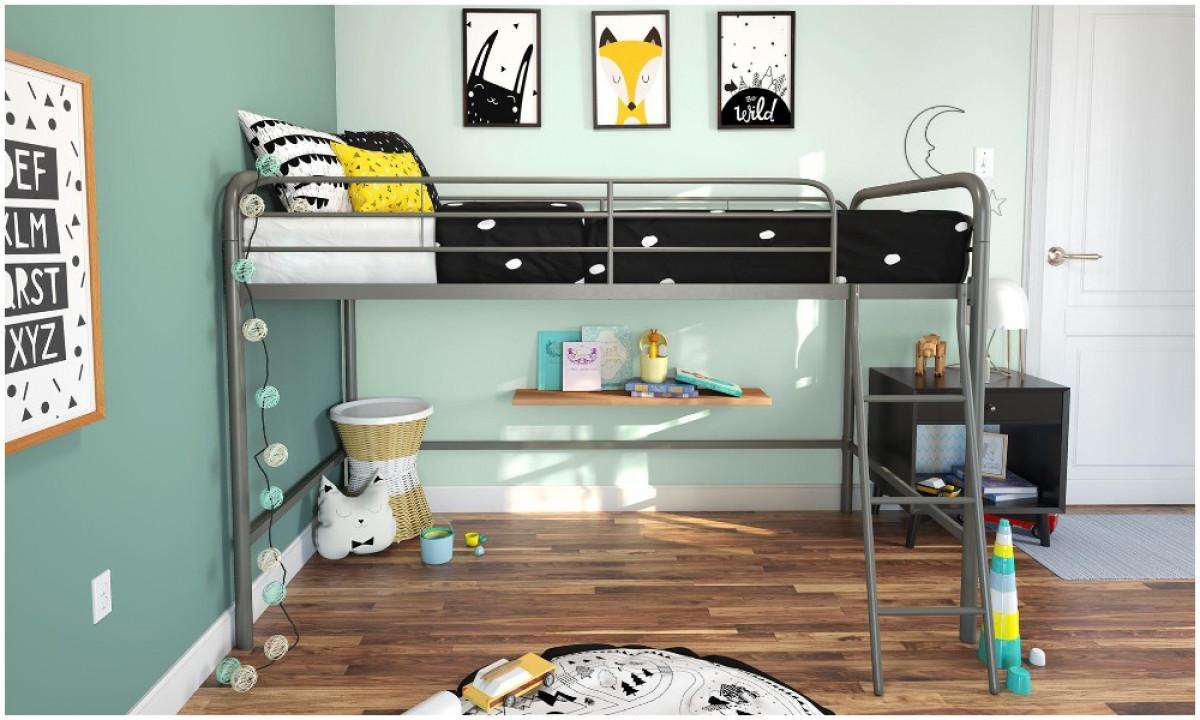 Създайте повече подово пространство с легло на висок етаж