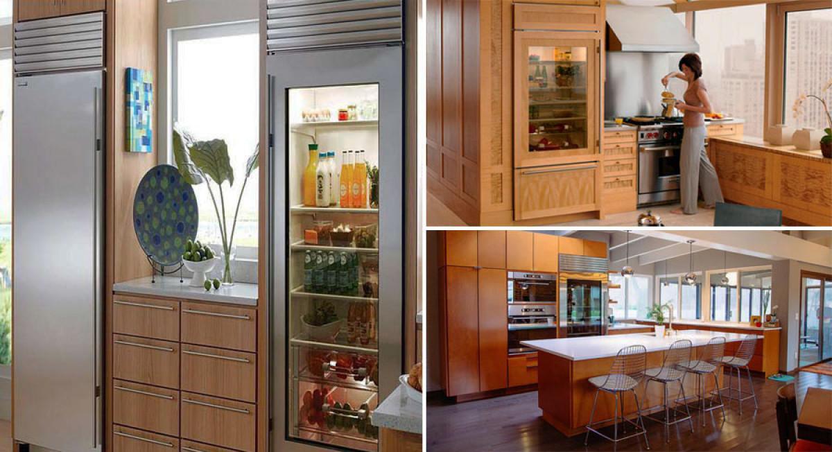 А къде е хладилникът?
