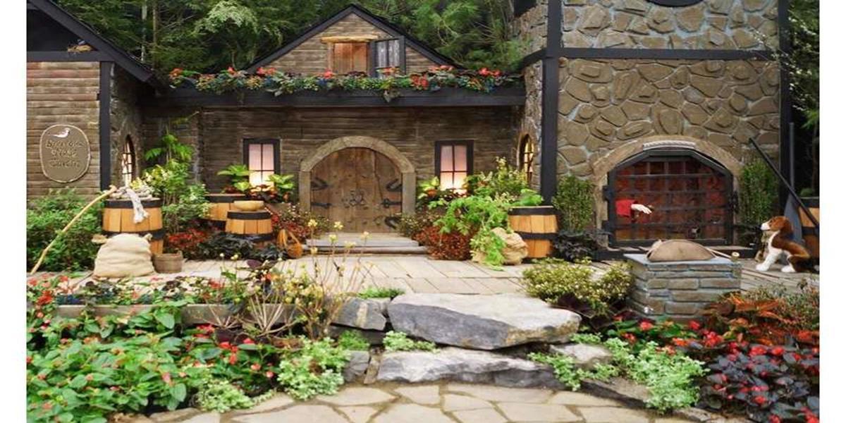 Стъпка 2. Стил на градината – няма нужда от прекалено много сложни неща