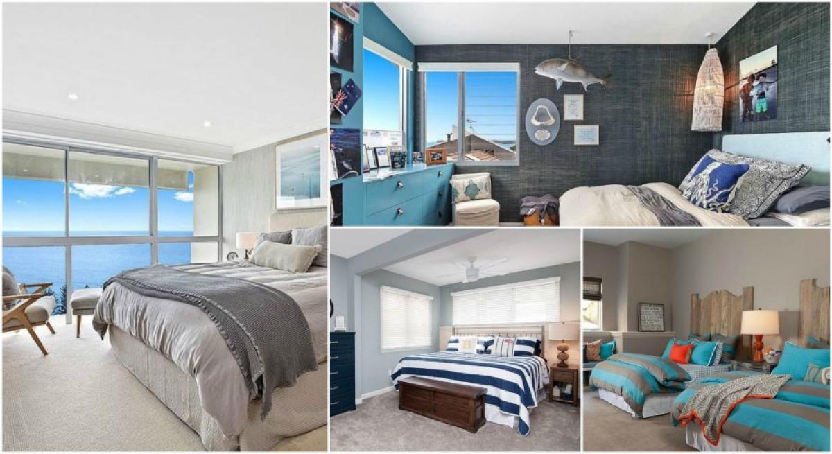 Изживейте релаксираща свежест с 10 удивителни спални в морски стил