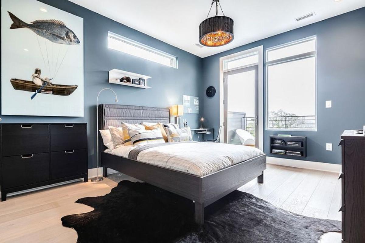 Спалня в морски стил за истински рибари