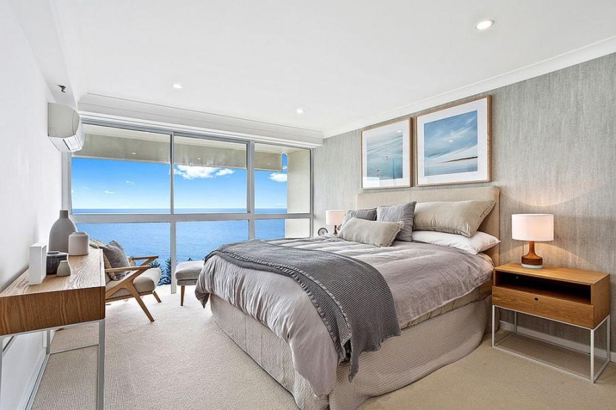 Морска спалня с дъх на лазур