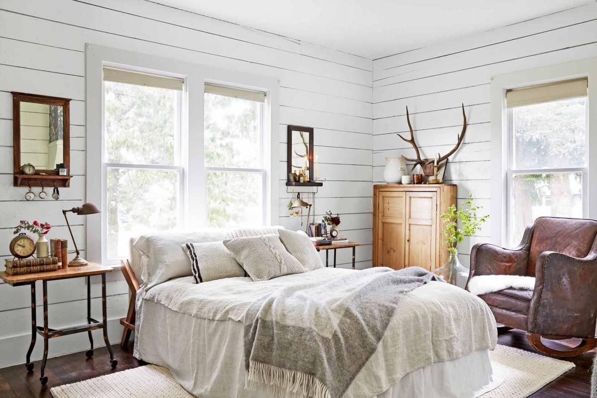 Идеи за спалня в бяло в 5 различни стила