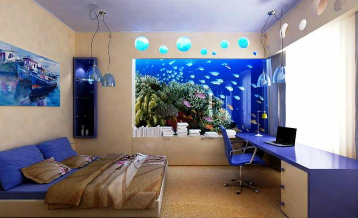 Къде е подходящо да бъде вграждан един аквариум?