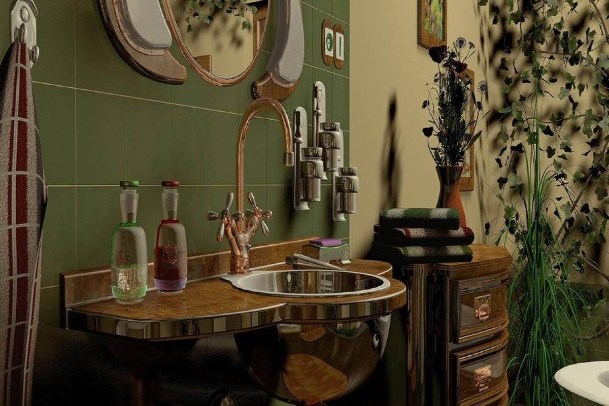 Дизайн с френски елементи в банята