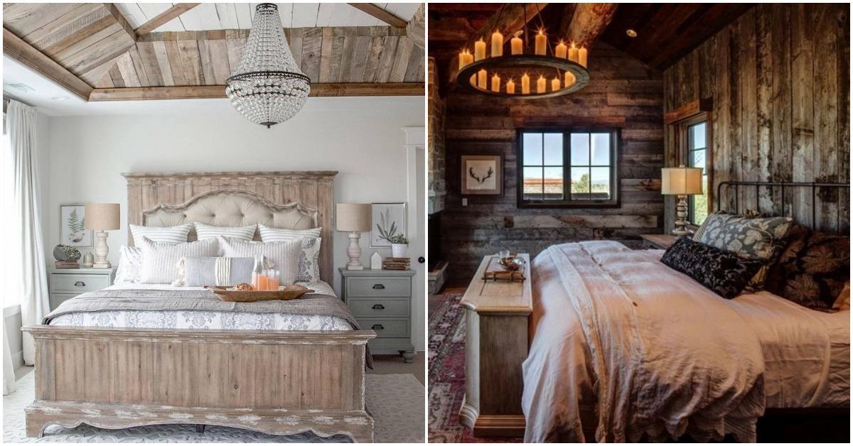 5 елегантни идеи за спалня в рустик стил