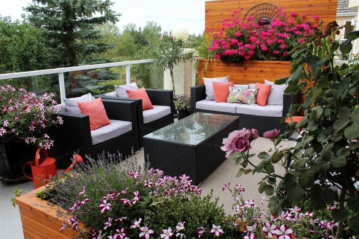 Каскадни цветя за вашата тераса