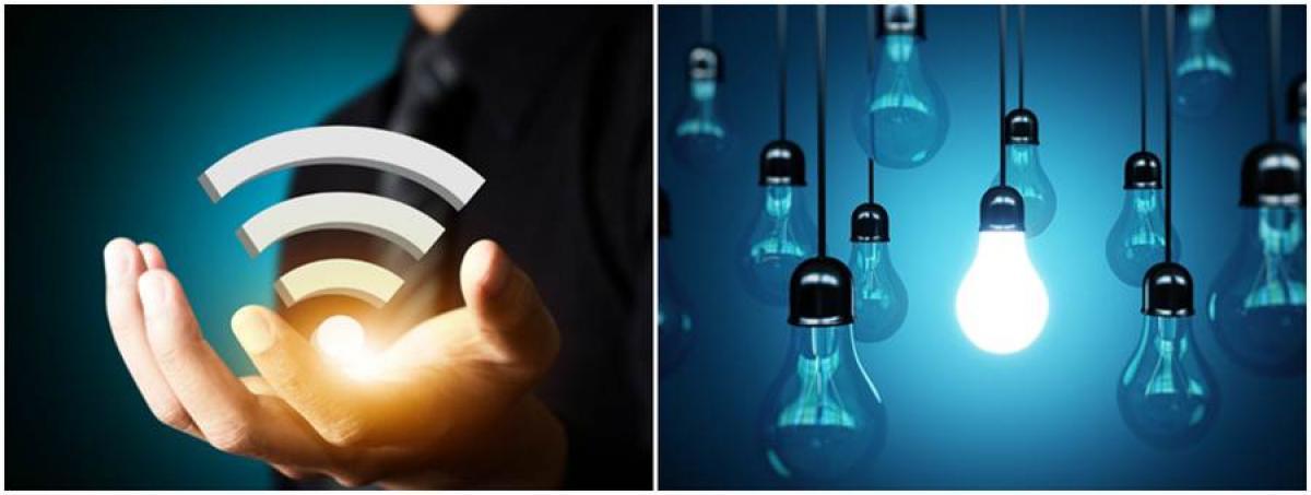 Какво представлява Li-Fi?