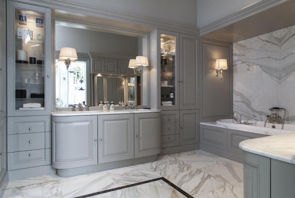 Още една добра идея за банята: отворен шкаф