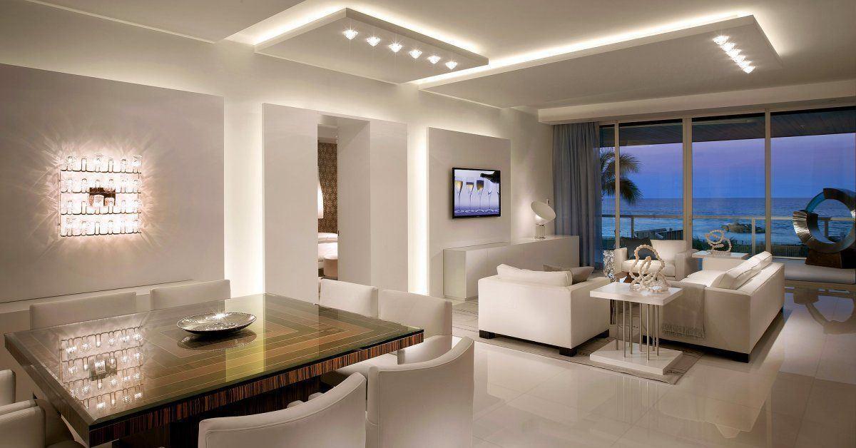 Правилно проектиране осветлението в апартамента