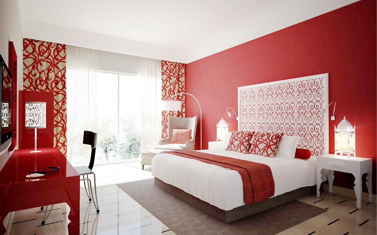 Спалня в червено за истински ценители!