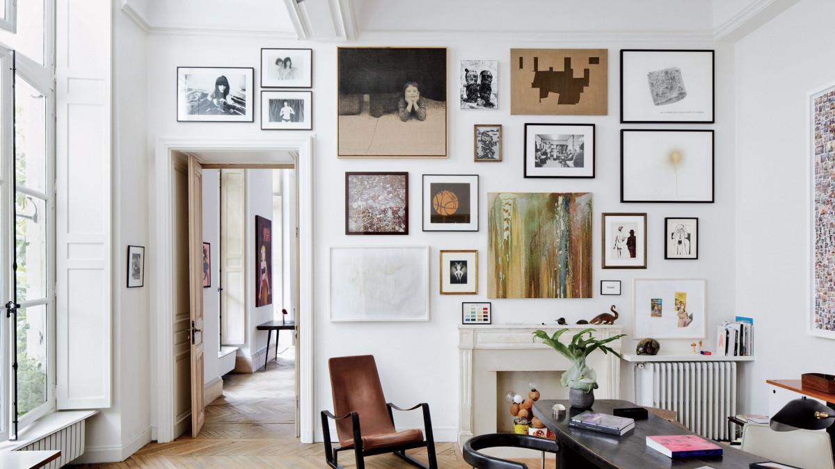 Историческо развитие на картините в интериора