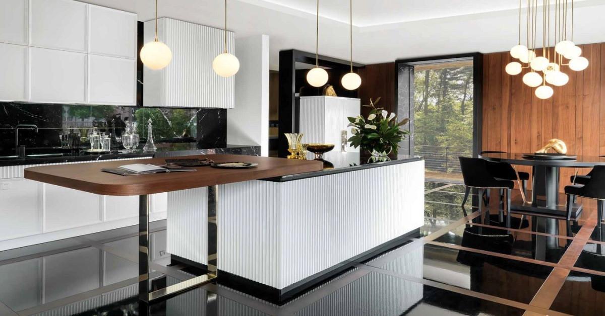 Кухня в стил Арт Деко: опции за дизайн