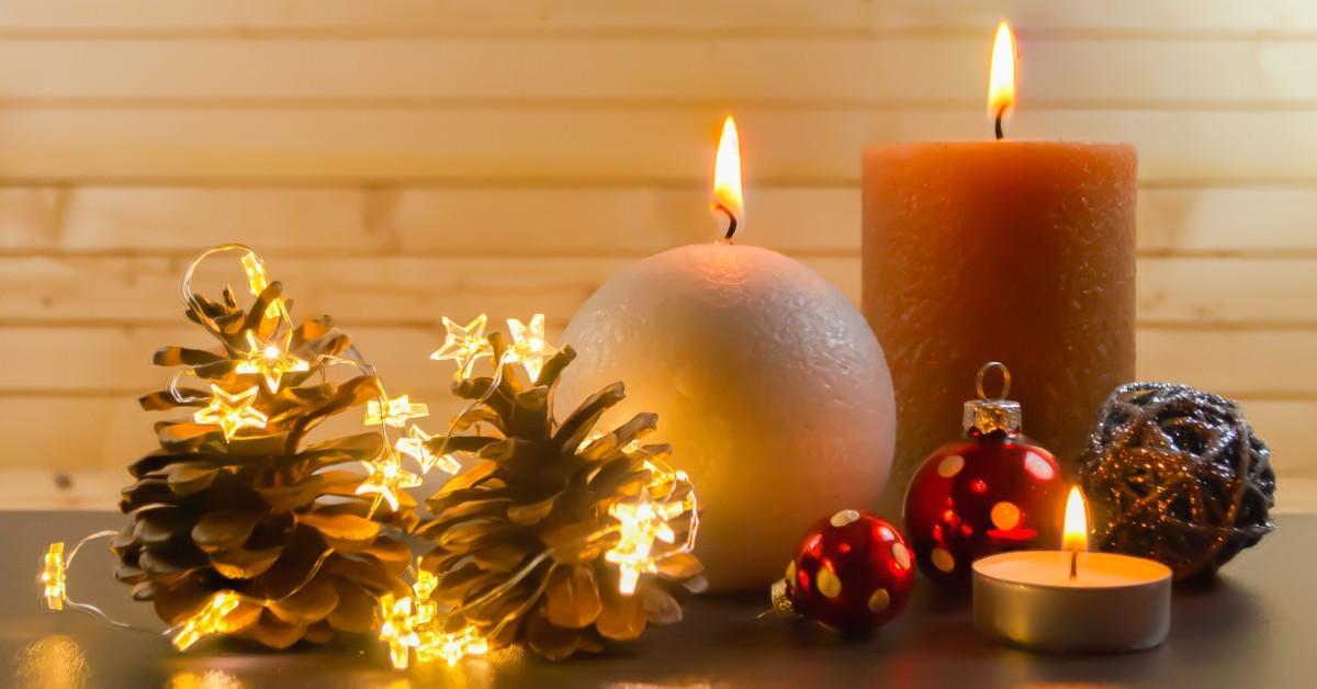 Направи си сам: Коледна свещ