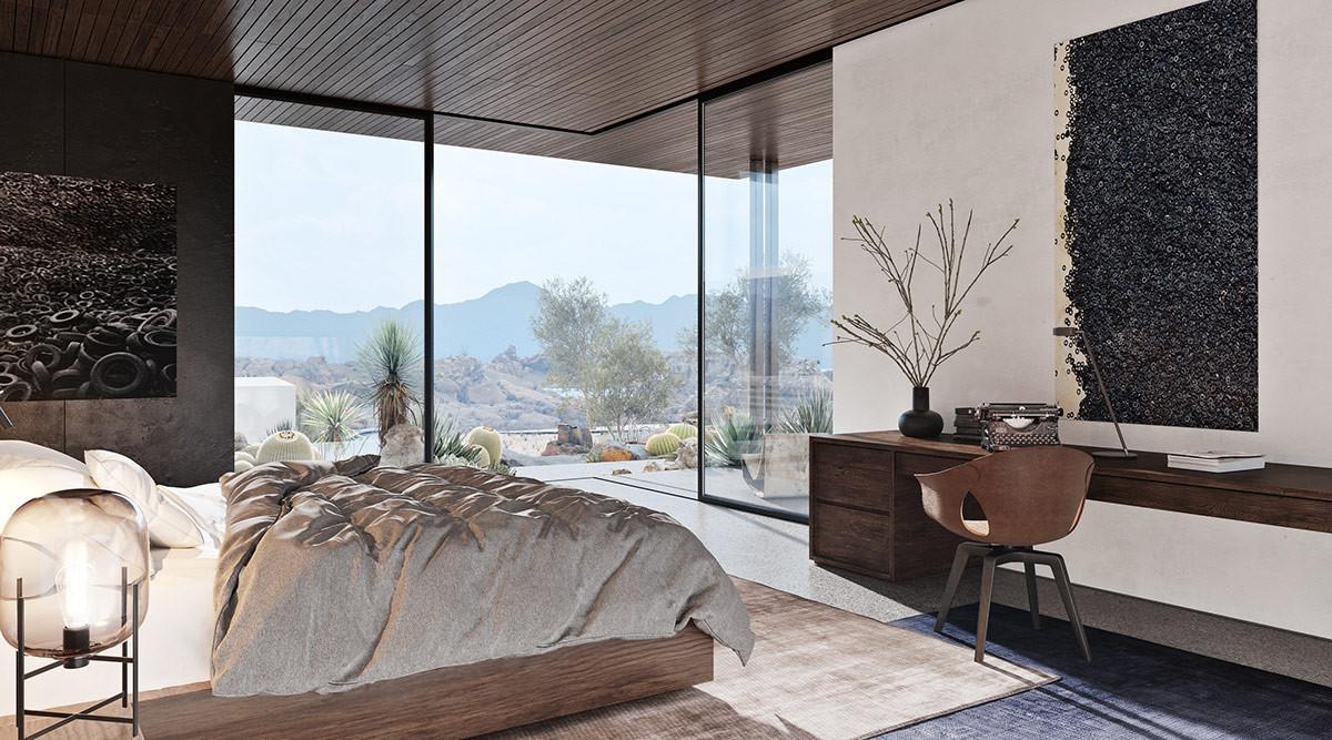 Спалня с великолепна гледка