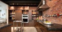 Няколко идеи за впечатляващи кухни в лофт стил