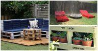 Креативни идеи за палети в градината и на терасата
