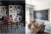 Лесно и стилно декориране на стената в трапезарията