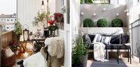 Как да превърнем малката тераса в домашен оазис?