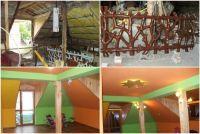 Преди и след ремонта: Неугледен таван се превръща в приветлива детска стая