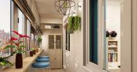 Щори за балкона: отлични дизайнерски идеи  (част първа)