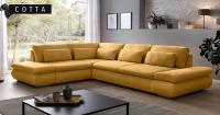 Ъглов диван - правилният избор за всяка малка всекидневна!