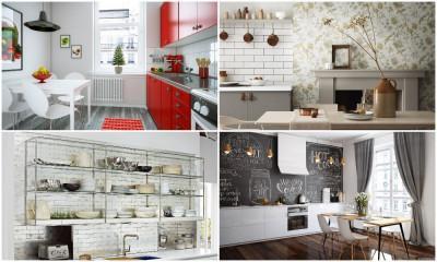 Как да освежим и декорираме стените в кухнята по 5 различни начина?