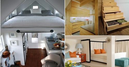 4 хитри идеи за малък апартамент, които си струва да откраднете