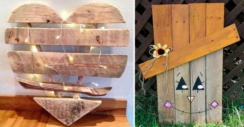 5 невероятни декорации от палети, с които да внесете чар у дома