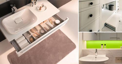 10 остроумни трика, с които да организирате банята