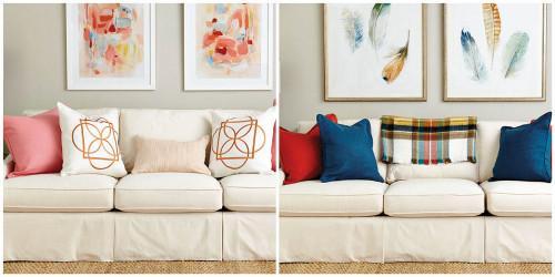 Преобразете дома си с помощта на възглавници