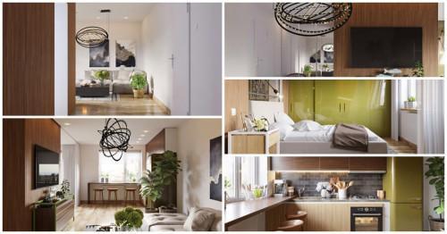 Компактен дом с удивителен дизайн, вдъхновен от красивата природа