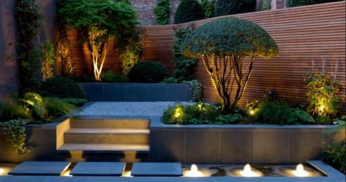 Осветление на градината