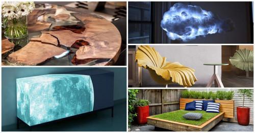 Мебели, носещи частичка природа в себе си