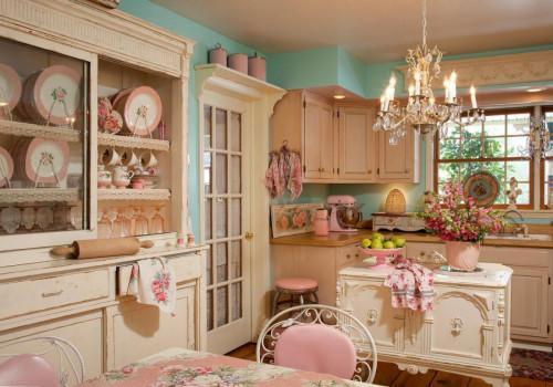Кухня в шаби шик стил