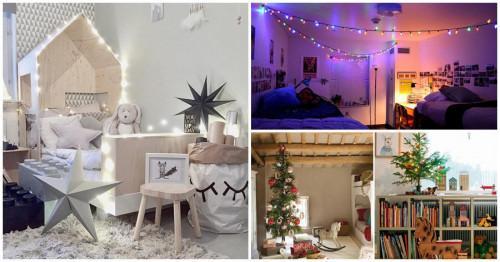 Как да декорираме безопасно детската стая за Коледа?