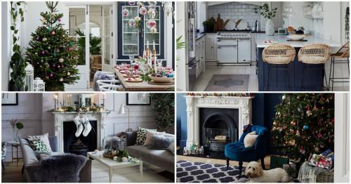 Коледната приказка става реалност в красива къща до Лондон