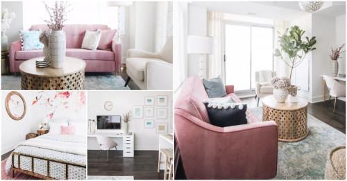 Малък апартамент с голям стил в Отава