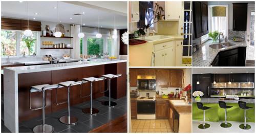 Преди и след: 10 невероятни кухни, претърпели пълна промяна