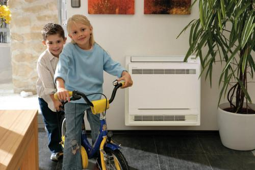 Защо да изберете подов климатик за отопление?