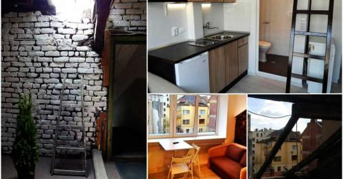 Преди и след: Как 13,5 кв.м. прашен таван отстъпиха място на спретнат и уютен дом