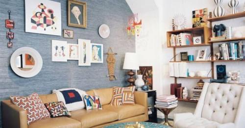 Съвети от дизайнери: как да обзаведем дневната във винтидж стил