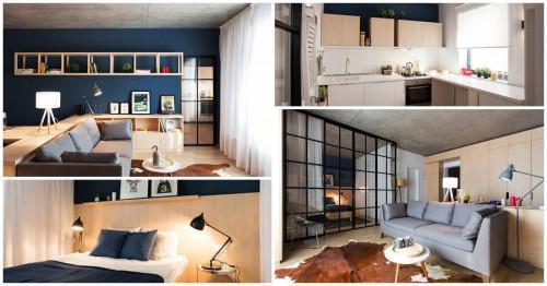 Компактен апартамент в Букурещ, който ще ви очарова с удобство и великолепен дизайн