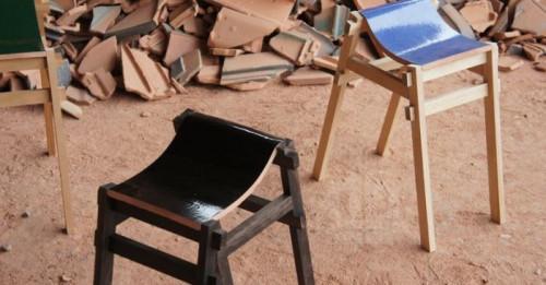 Най-креативните бар столове и пейки, направени от керамични отпадъци