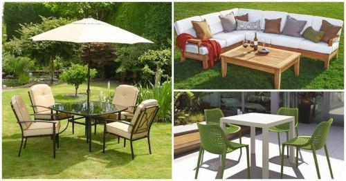 Как да почистваме правилно мебелите в двора и градината?