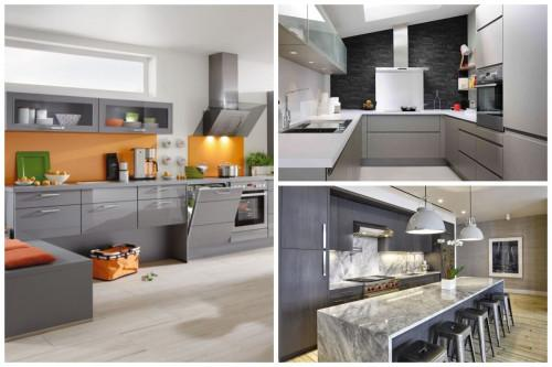 Елегантни кухни в сиво, в които ще се влюбите от пръв поглед