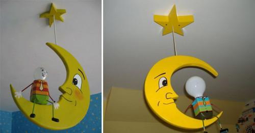 Как сами да си направим приказна детска лампа