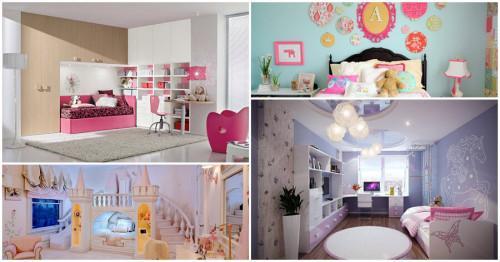 Как изглежда съвършената детска стая за момиче?